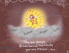 Sun quote via www.SketchesinStillness.com