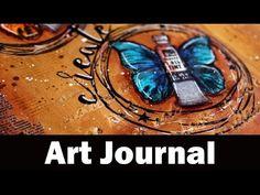Step by step video on creating an art journal using mixed media techniques. Blog post: https://goo.gl/KjtMty ——— expand for S U P P L I E S ——— • Moleskine S...