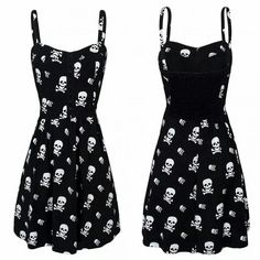 http://www.rebelcircus.com/women-s-skull-x-bones-with-smocked-black.html