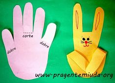 Spring Crafts For Kids Easter Art, Easter Crafts For Kids, Diy For Kids, Easter Bunny, Easter Activities, Preschool Activities, Diy Ostern, Bunny Crafts, Spring Crafts