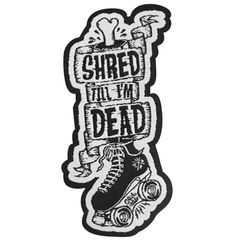 $6.00 Shred-patch
