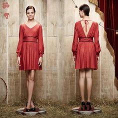 >> Vestido Mini Raposas <<