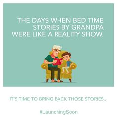 The days when bed time stories by grandpa were like a reality show. It's time to bring back those stories. Launching Soon www.arkadegroup.com #ArkadeGroup #RealEstate #Mumbai #Property #Residential #Home #Arkade #TheFutureIsNow