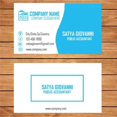 The 22 best business card template images on pinterest business accountant business card template wajeb Choice Image