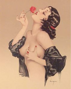 Olive Thomas by Alberto Vargas                                                                                                                                                      More