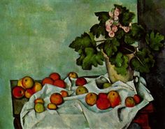 Still life with fruit geraniums Stock Paul Cezanne art for sale at Toperfect gallery. Buy the Still life with fruit geraniums Stock Paul Cezanne oil painting in Factory Price. All Paintings are Satisfaction Guaranteed Paul Cezanne, Cezanne Art, Still Life With Apples, Still Life Fruit, Metropolitan Museum, Cezanne Still Life, Primroses, Aix En Provence, Provence France