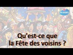 Tout savoir sur la fête des voisins - YouTube France, Learning, Fle, Studying, Teaching, Onderwijs, French