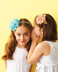 Cute little girl headbands