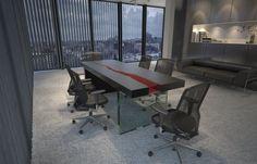 Items similar to Kasparo- amazing table with resin and LED technology on Etsy
