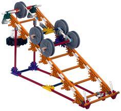 k'nex simple machines deluxe roller coaster ramp - Google Search