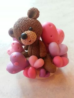 Teddy bear & plenty of love..annie