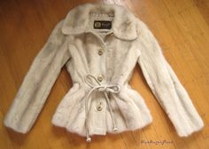 picture perfect and petite! vintage azurene mink coat at moxiefurs.com *SOLD*