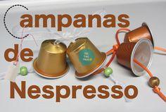 Campanas hechas con capsulas de Nespresso https://youtu.be/986yvOH5B7k