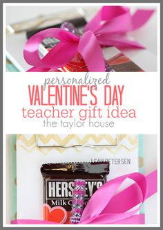 Valentine's Day Teachers Gift idea from Pear Tree Greetings!