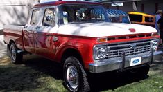 crew cab - Ford Truck Enthusiasts Forums- I never saw one, but I want one! Classic Ford Trucks, Ford Pickup Trucks, Ford 4x4, 4x4 Trucks, Lifted Trucks, Cool Trucks, Chevy Trucks, Classic Cars, Lifted Ford