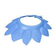 Eenkula BéBé Chapeau De Shampooing Doux RéGlable Earmuffs De Bain SûRs Bonnets De Douche (D)