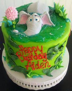 Horton Hears a Who cake
