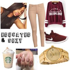 A fashion look from October 2015 featuring H&M pants, NIKE sneakers and Rolex watches. Browse and shop related looks.