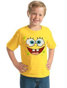 SpongeBob Face Youth Kids T-Shirt-Youth XSmall [4/5]