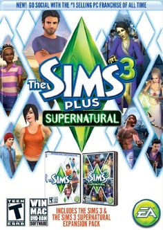 The Sims 3 Plus Supernatural * See this great product.-It is an affiliate link to Amazon.