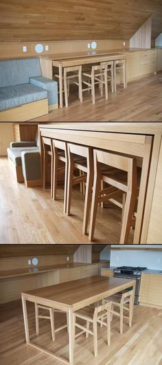 PULL-OUT Table ~ Island ~ Desk