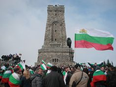 Bulgarians remind their freedom of 500 years slavery from Turkey.