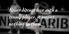 10 tennis quotes to get you through the work week - Tennis Canada Tennis Photos, Work Week, Love Images, Tennis Players, Love Quotes, Qoutes Of Love, Quotes Love, Quotes About Love, Love Crush Quotes