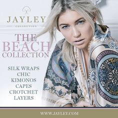 "JAYLEY on Twitter: ""#beachwear #holidays #sun our collection is online. #silks #crotchet #wraps #ponchos #style #fashion https://t.co/gZZVE5mEb1"""
