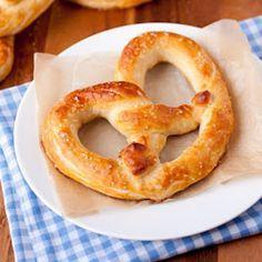 Receta para hacer pretzels