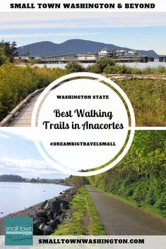 Are you in Anacortes, Washington and looking an easy trail for counting steps or a paved and flat surface or a leisurely walk? This guide lists the three best walking trails in Anacortes, plus three additional options.  #travel #traveltips #walking