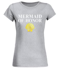 mermaid of honor t shirt lovely t shirt beaches wedding foil white bridal shower shirt