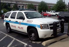 Chicago PD Chevy Tahoe.