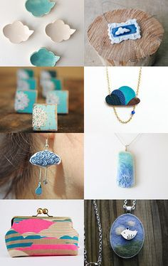 Clouds in the sky by Stefanie on Etsy--Pinned with TreasuryPin.com
