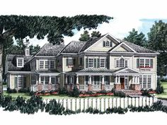 Farmhouse House Plan with 4152 Square Feet and 5 Bedrooms from Dream Home Source | House Plan Code DHSW29134