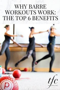 Top 6 Benefits of Barre Workouts | Posted By: AdvancedWeightLossTips.com Ballet Barre Workout, Cardio Barre, Hiit, Fitness Tips, Fitness Motivation, Barre Fitness, Fitness Studio, Routine, High Energy