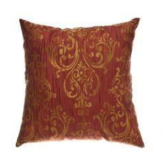 Laura, golden damask pattern