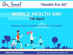 World health day! universal health coverage: everyone, everywhere! Health Facts, Health Diet, Health Care Assistant, World Health Day, Spine Health, Facts For Kids, Healthy Shopping, Healthy Food Delivery, Home Quotes And Sayings