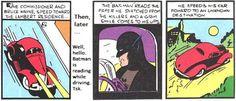 Batman's car in Detective #27(1939)