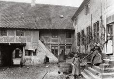 Inner Court. Nyborg, Denmark 1940
