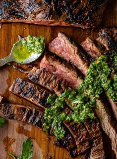 Grilled Skirt Steak Recipe Skirt Steak Recipes, Grilled Steak Recipes, Beef Recipes, Cooking Recipes, Healthy Recipes, Easy Recipes, Parmesan Roasted Green Beans, Grilled Skirt Steak, Barbecue