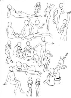 deviantART: More Like Poses -Reference- by ~Eek-the-Menace