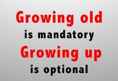 Excellent, I choose never to grow up!