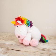 40 Besten Häkeln Einhorn Bilder Auf Pinterest Crochet Unicorn