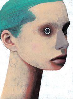 Humorous and ironic portraiture by Guim Tió Zarraluki