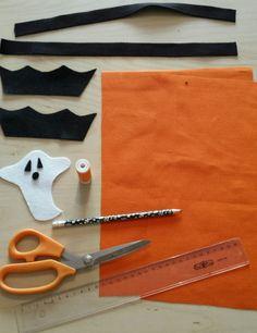 DIY Halloween 1 Sac Halloween, Bonbon Halloween, Diy Sac, Hunting, Paper Pieced Patterns, Pretty, Children, Atelier