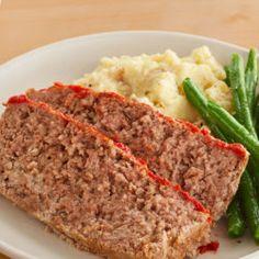 Hidden Valley Ranch® Twice Baked Potatoes Recipe Ranch Meatloaf, Best Meatloaf, Meatloaf Recipes, Meat Recipes, Crockpot Recipes, Chicken Recipes, Cooking Recipes, Keto Chicken, Dinner Recipes