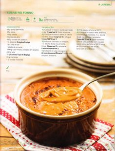 Revista bimby pt-s02-0036 - novembro 2013 Portuguese Recipes, Fish And Seafood, Other Recipes, Seafood Recipes, I Foods, Foodies, Food And Drink, Yummy Food, Favorite Recipes