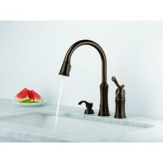 Delta Lakeview Singlehandle Pulldown Sprayer Kitchen Faucet With Mesmerizing Kitchen Sink Soap Dispenser Design Ideas