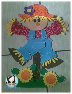 ARTE E MAGIA Henry Hugglemonster, Make A Scarecrow, Foam Crafts, Felt Diy, Summer Crafts, Paper Piecing, Paper Dolls, Tweety, Smurfs