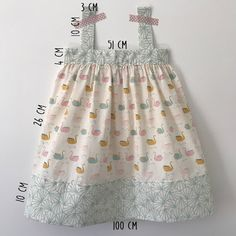 New baby dress diy summer 44 Ideas New Baby Dress, Baby Summer Dresses, Dresses Kids Girl, Kids Outfits, Outfits Niños, Baby Dresses, Dress Summer, Robe Diy, Clubbing Outfits